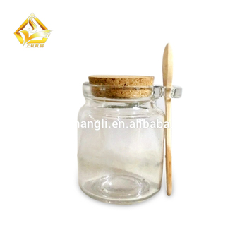 3oz 5oz 8oz Mini Small Dessert Pudding Favor Milk Spice Bottles Glass Jars With Cork Or Cap Cover