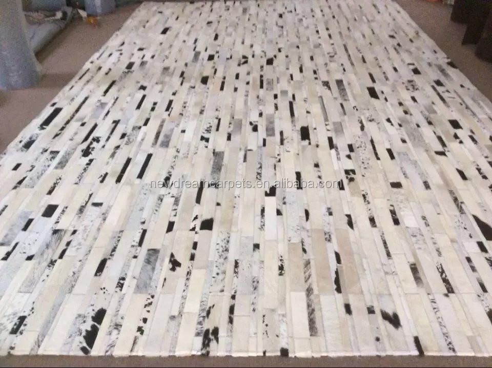 Fabrik großhandel Weichen unterlage Natürliche Rindsleder