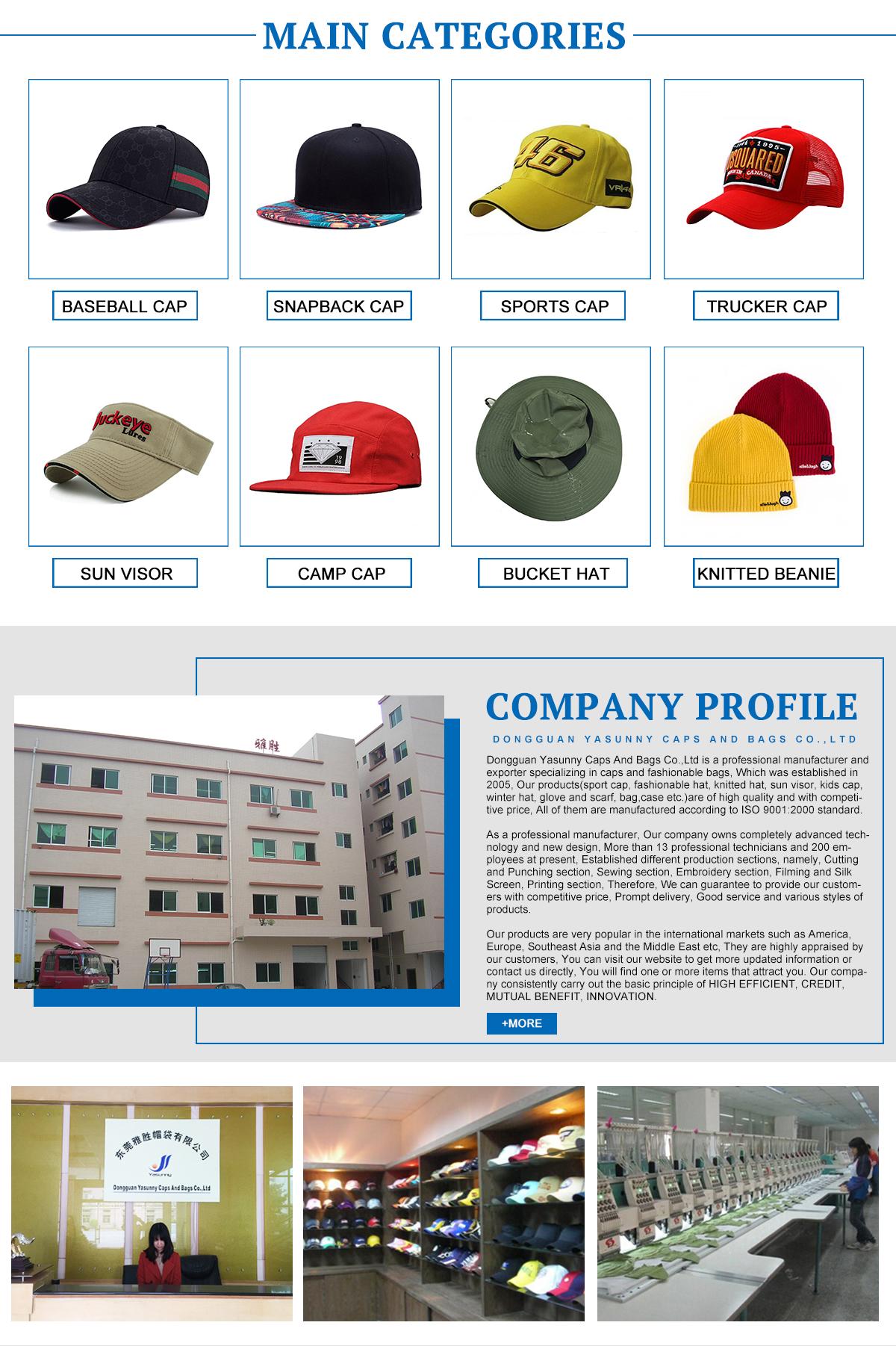 e8f211348fbec Dongguan Yasunny Caps And Bags Co.