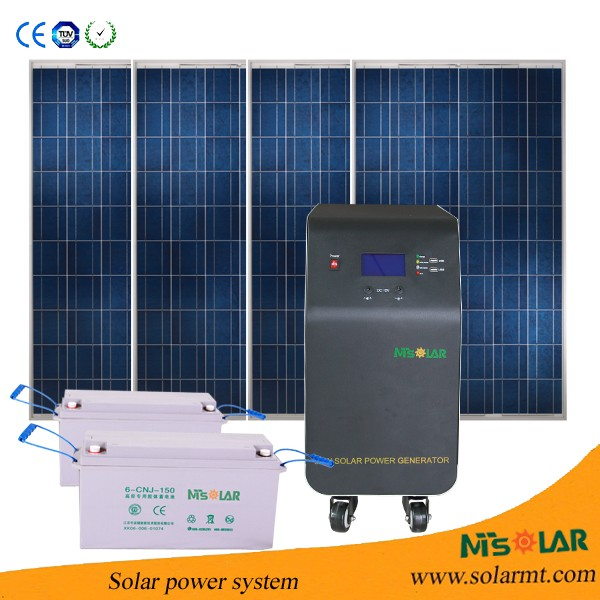 3KVA complete whole house used 3KW solar power system