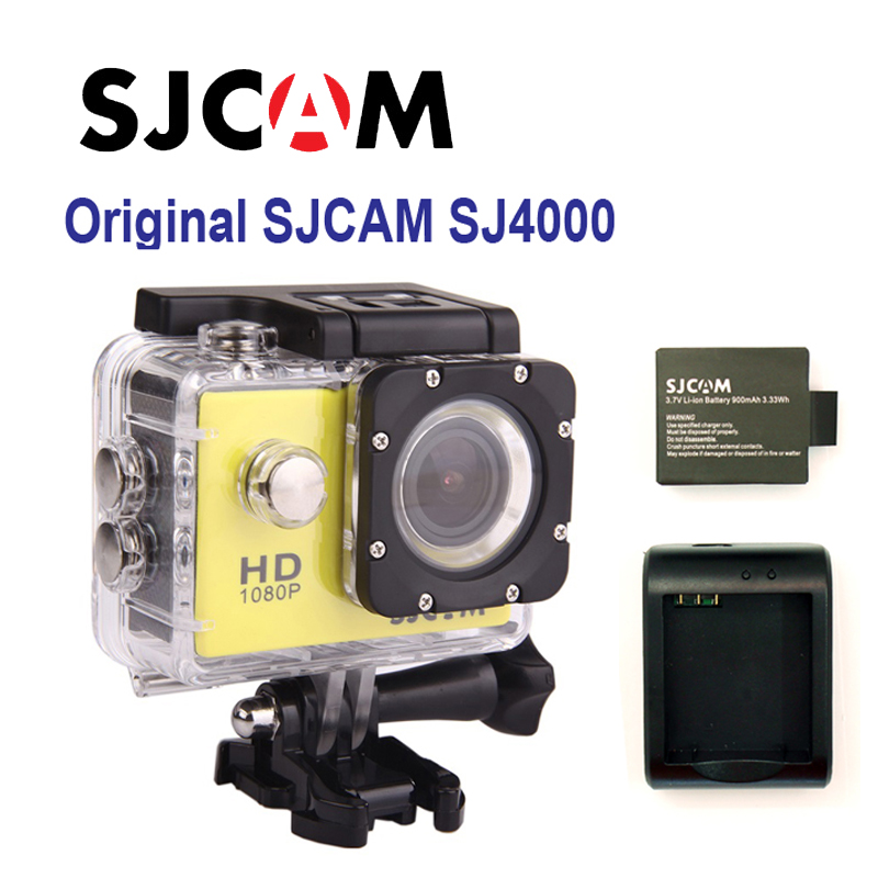 Free shipping!! SJ4000 Full HD Sport Action Camera+Extra 1pcs battery+Battery Charger AC Adapter+Car Charger+Holder