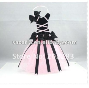 Newest wending dress bows holder