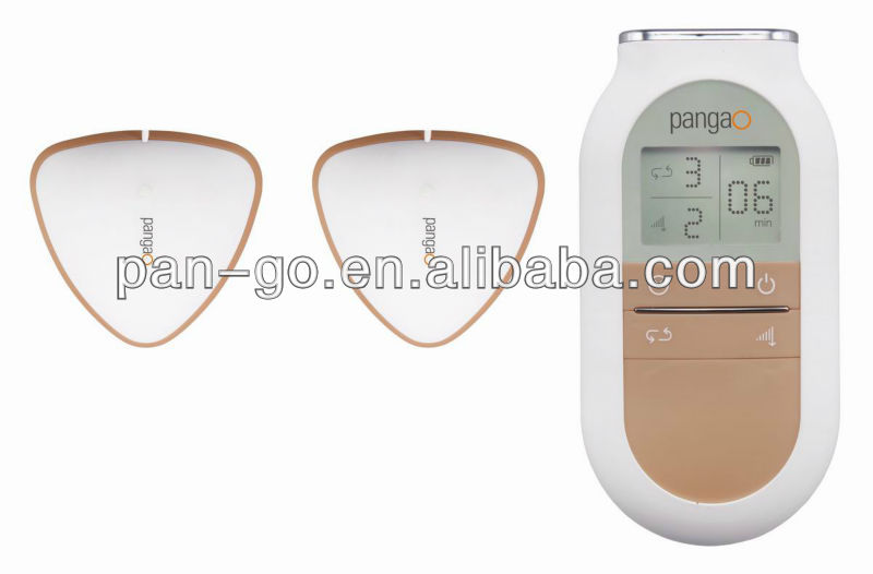 Low frequency pangao Electric TENS Breast Massager