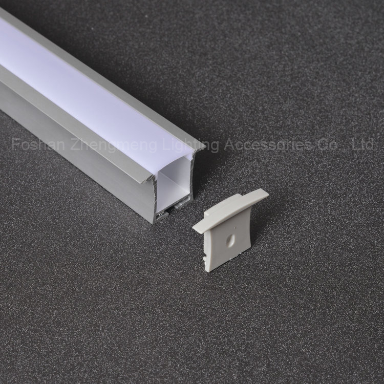 36*28mm U shaped aluminium corner angles for led casting curved aluminum extrusion with lips