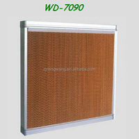 Wall mounted industrial alloy cooling pad WD-7090