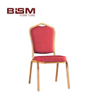 Hot sale banquet furniture fatigue resistance Stacking Restaurant Chair Metal Banquet Chair Hot Sale L2130