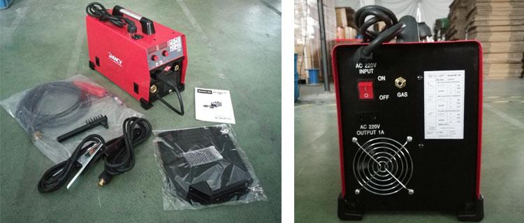 200 Amp Inverter MIG MAG Stick Welder machine with VRD