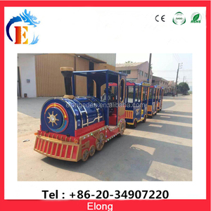 Cheap price amusement park kiddie rides train toy,electric train for sale