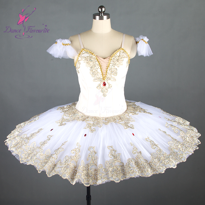 2e470a022 Swan White Professional Ballerina Costume 10 Layers Of Stiff Tulle ...
