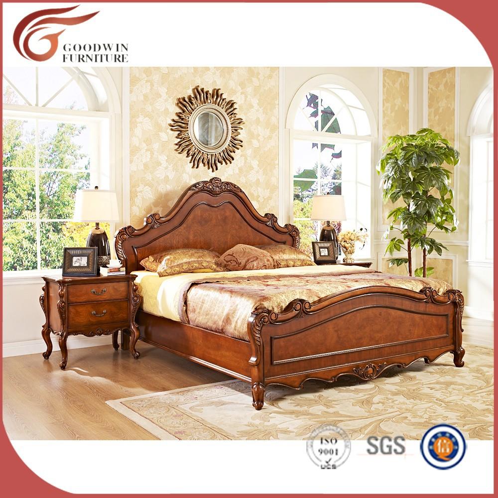 talladas a mano cama de lujo habitacin royal clsico muebles de dormitorio
