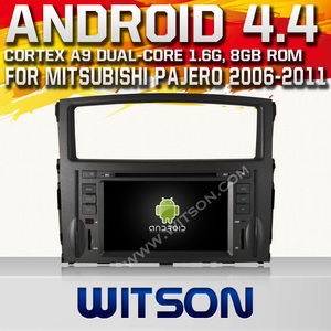WITSON ANDROID 4.4 TAPE RECORDER FOR MITSUBISHI MONTERO WITH 1.6GHZ FREQUENCY DVR SUPPORT WIFI STEERING