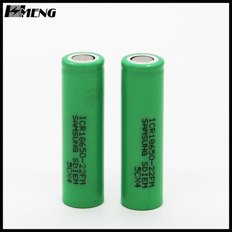 18650 3.7v samsung 2200mah ICR18650-22FM rechargeable samsung 22fm