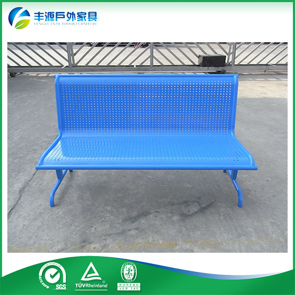 Cheap Chinese Furniture Modern Style Outdoor Metal Garden Bench