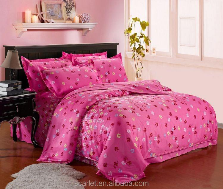 Drap de lit de conception de fleur mickey mouse literie - Taie d oreiller minnie ...