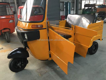 Indian Technology Tuk Tuk Passenger Tricycle For Sale