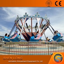 Powerful manufacture Supplier Spiral Jet Amusement Rides, Air Shooting Rides, extreme shot ride for sale