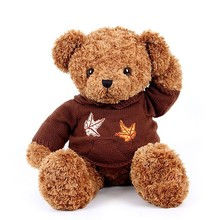 Cute cheap wholesale teddy bear with t-shirt