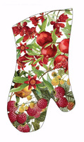 Christmas kitchen gift Heat Resistant Double Oven Mitts - Quilted Cotton Interior cotton Gloves