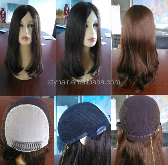 New Arriving 7A grade, European human remy hair silk top jewish wig kosher wigs