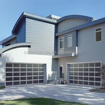Aluminum Frame Glass Porte De Garage Buy Porte De GarageAluminum - Porte de garage aluminium