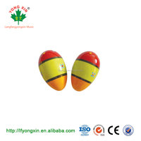 2019 Colourful School Teaching Aids Mini Plastic Egg Shakers, Percussion Egg Shakers Wholesale
