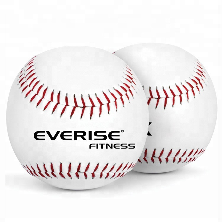 Custom Officiële Sport Oefening Training Match League Lege Lederen Baseball Ballen
