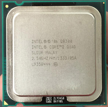 quad core Q8300 processor lga775 socket scrap cpu sale from China