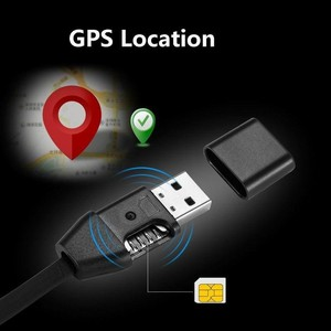 HS8 Miniature Anti-lost Tracker Vehicle Car GPS Locator USB Data New Remote Tracking USB Cable GIM Tracker