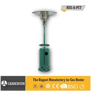 Air Parking Battery Operated Heate Green Stand Up Heater