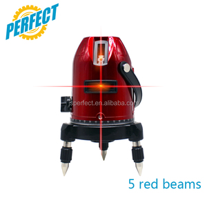 Red beam 360 manufacture spectra rotary self levelling laser level