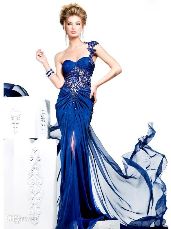 Cheap Long Royal Blue Prom Dresses, find Long Royal Blue Prom ...