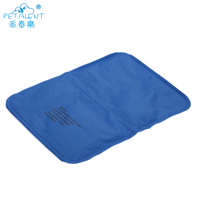 Summer dog cooling bed and pet cool gel mat