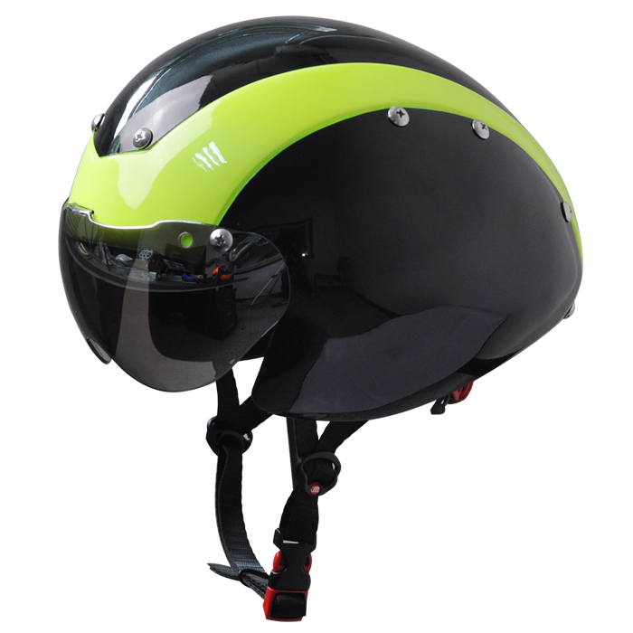 New Style In-mold Drop Design Time Trial Cycling Helmet With Certificates 7