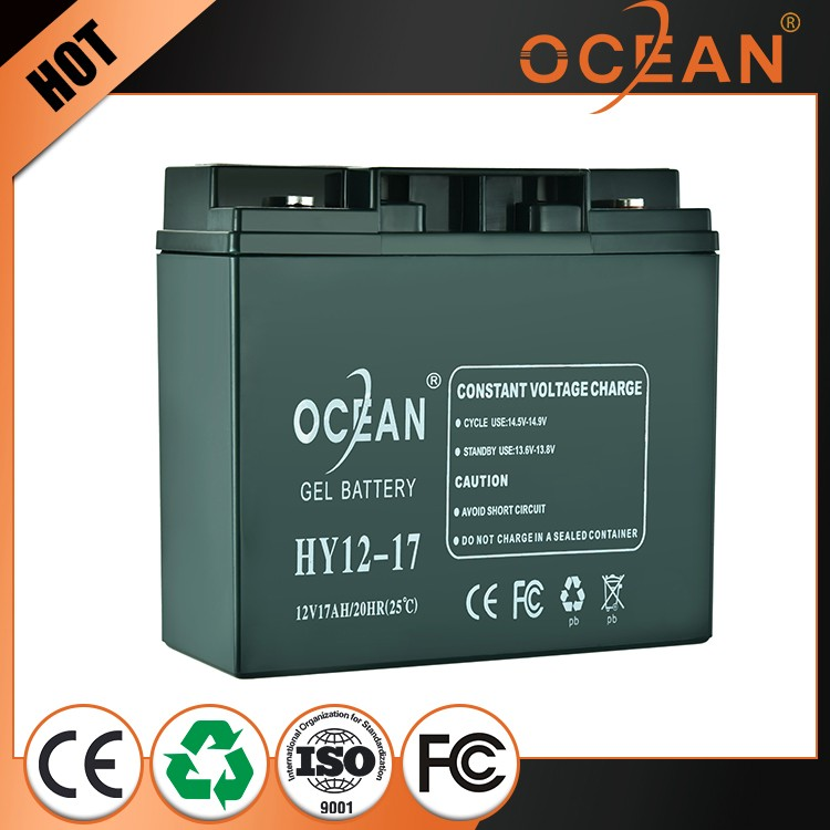 12V 17ah new products large current safe solar power storage battery