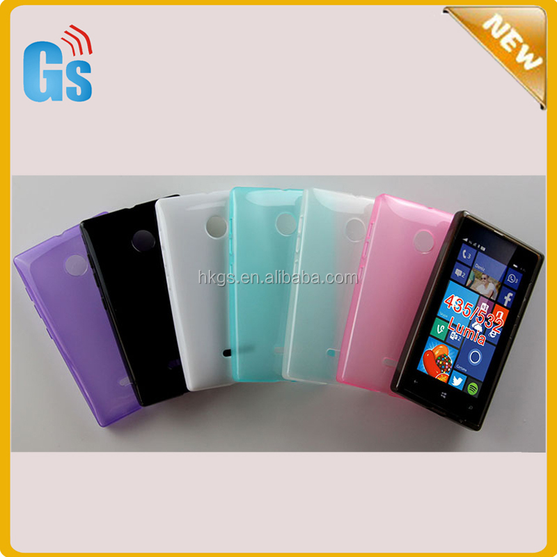 size 40 f08a1 91292 Hot Selling Jelly Soft Skin Tpu Back Cover Case For Microsoft For Nokia  Lumia 435/435 Dual/532 - Buy Cover Case For Nokia Lumia 532,For Lumia 435  Dual ...