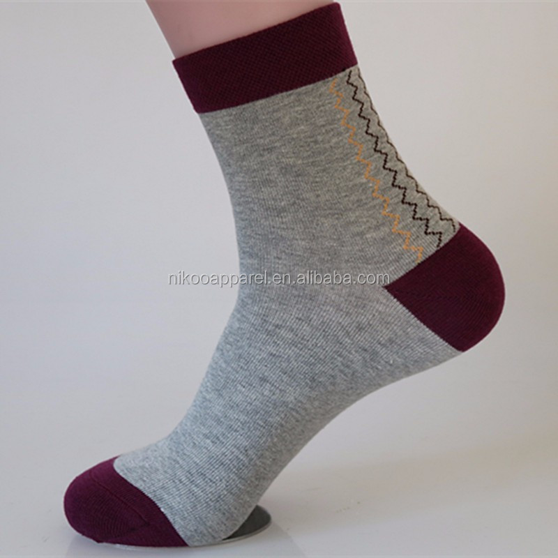e605f67a3 Custom Mens Knitted Business Dress Socks sweat-aborbing organic cotton socks  wholesale