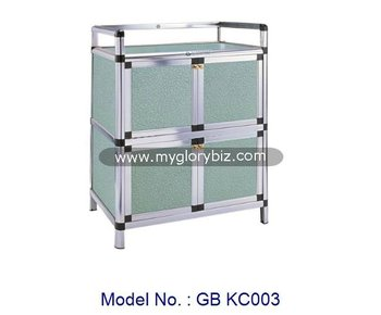 Aluminum Cabinet Kitchen Rack Modern, Aluminium Kitchen Cabinet, Cheap Rack  Furniture