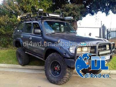 Offroad Toyota Land Cruiser Fj80 Fender Flare Abs Plastic Car ...