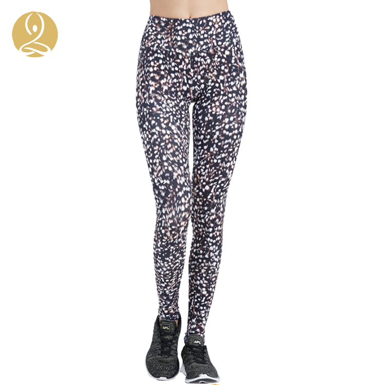High Waisted Workout Printed Fitness Tight Woman Gym Wholesale Manufacturer Sexx Legging Photo