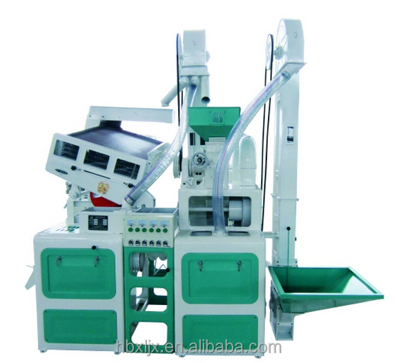 Real and only one factory CTNM 15 High capacity mini combine parboiled rice mill