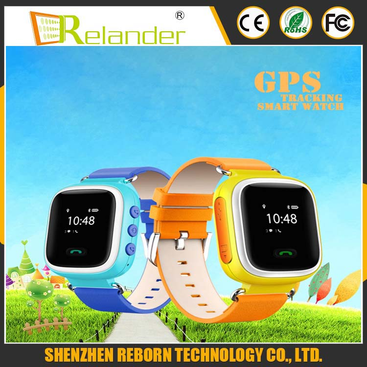 Kid GPS Smart Watch SOS Call Location Finder Locator Tracker for Kid Safe Anti Lose Monitor Q60 smartwatch kis gps