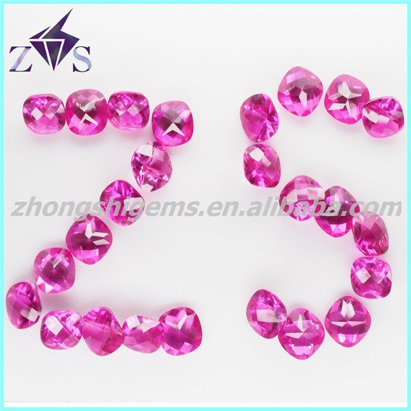 New Arrival Synthetic Red Sapphire Ruby Prices
