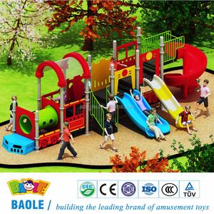 BAOLE outdoor plastic kids playground pe outdoor playground equipment