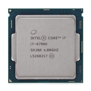 Intel Core CPU i7-6700K Processor (8M Cache, up to 4.20 GHz)