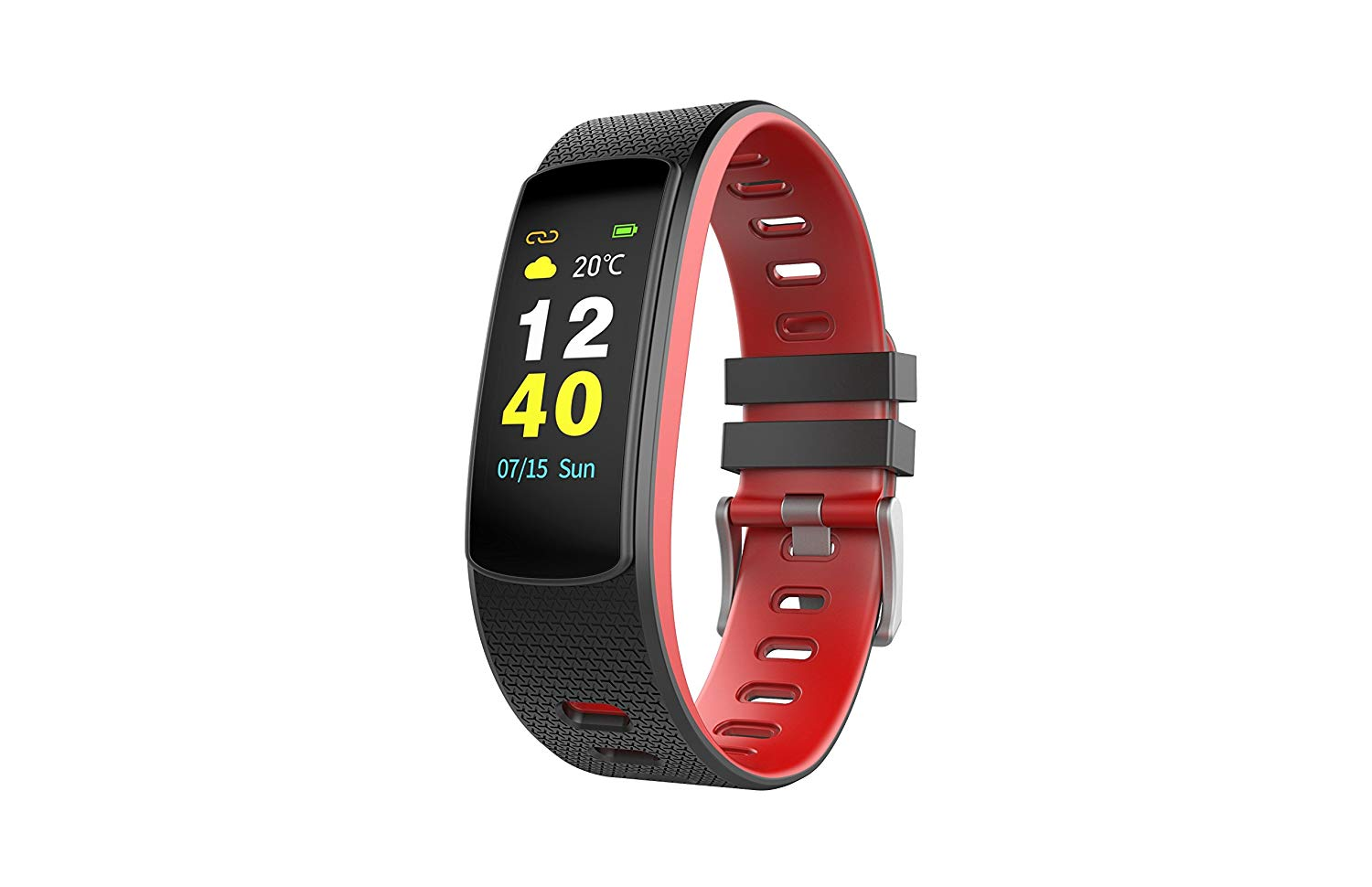 Moko Smart Fitness Tracker Color Screen, i6HRC Smart Watch Activity Tracker with heart rate monitor, Sleep Monitor, Smart Bracelet Pedometer Bluetooth Wristband with Replacement Band