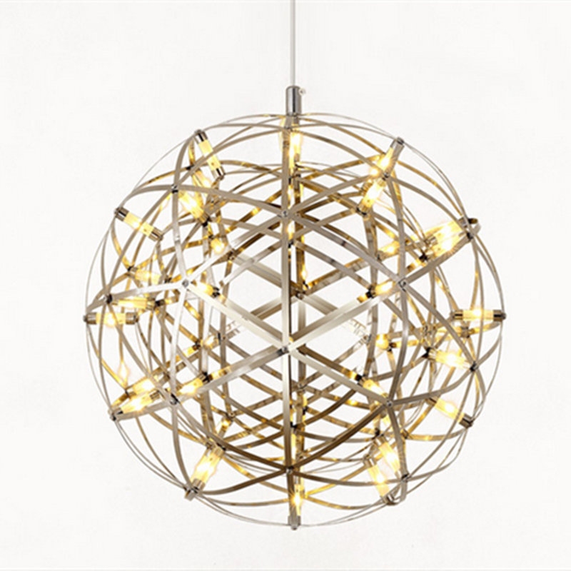 Newst design luxury round ball chandelier hanging / pendant / lighting fixture