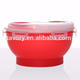 wholesale containers big sizes salad bowl plastic with carrying rings