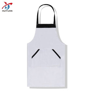 2018 new white waist apron promotional apron