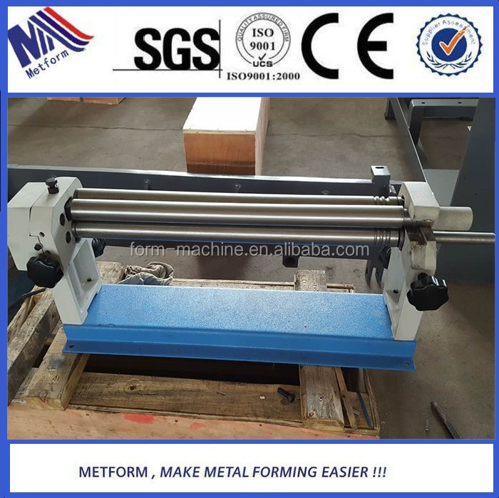 Metform manual rolling machine bending thin steel plate for small pipe