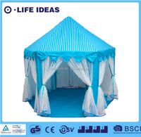 Princess tent, Blue play house
